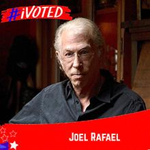 Joel Rafael I Voted
